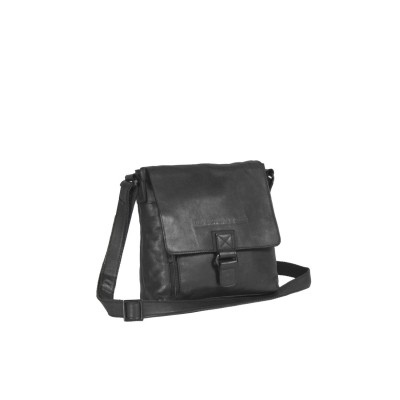Photo of Leather Shoulder Bag Black Label Anthracite Lois