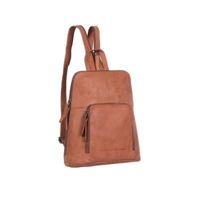 Photo of Leather Backpack Cognac Vivian