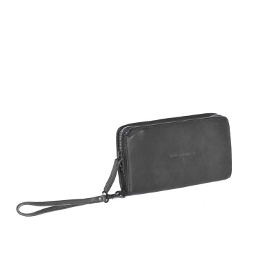 Photo of Leather Wallet Anthracite Black Label Chloe