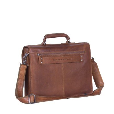 Photo of Leather Shoulder bag Cognac Mario