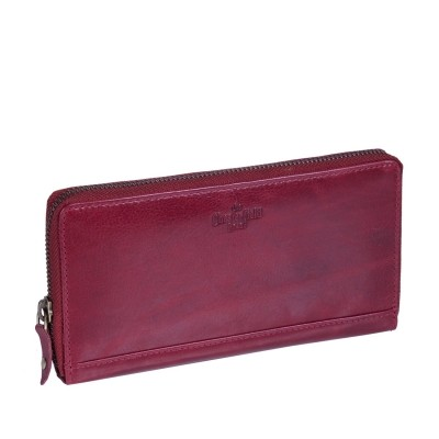 Leather Wallet Red Bridget