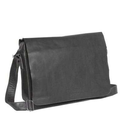 Photo of Leather Laptop T2 Bag Black Thomas Hayo