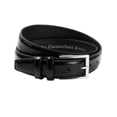 Photo of Leather Belt Black Mats