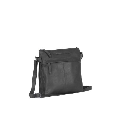 Photo of Leather Shoulder Bag Black Stella