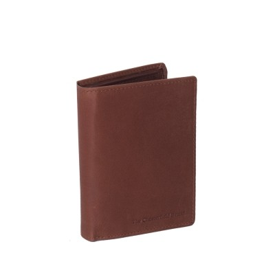 Leather Wallet Cognac Hazel