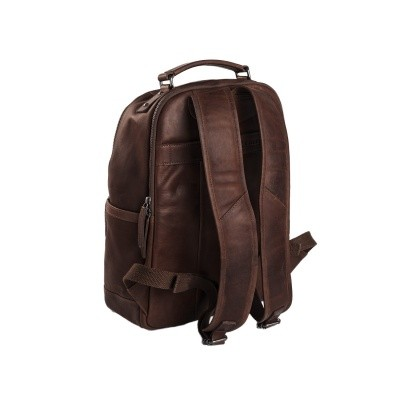 Photo of Leather Backpack Brown Austin