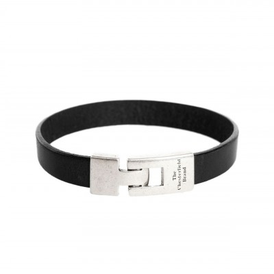 Photo of Leather Bracelet Black Granada