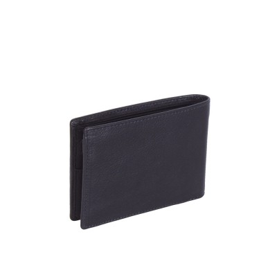 Photo of Leather Wallet Black Gill