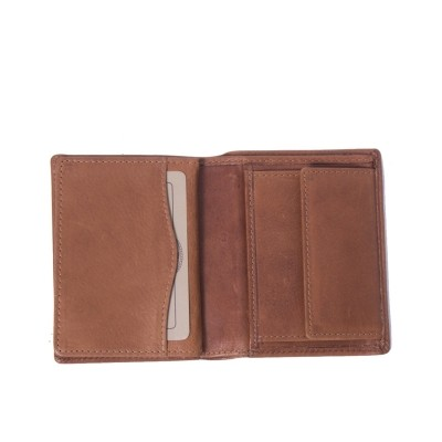 Photo of Leather Wallet Cognac Hereford