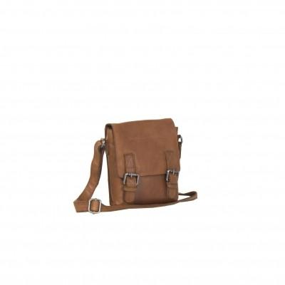 Leather Shoulder Bag Cognac Jesse