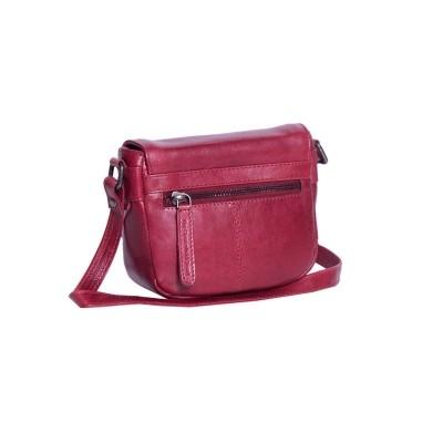 Photo of Leather Shoulder Bag Red Ilse