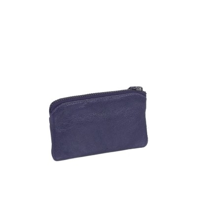 Photo of Leather Key Pouch Navy David