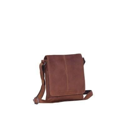 Leather Shoulder Bag Cognac Bodin