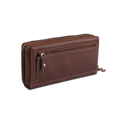 Photo of Leather Wallet Cognac Zoe