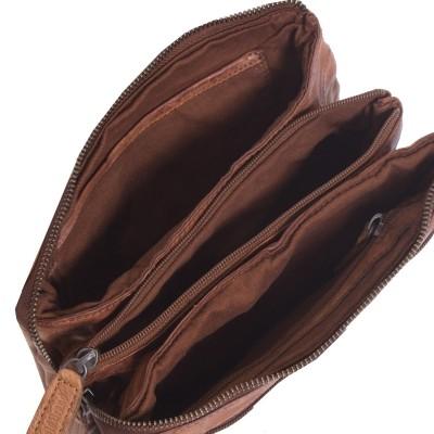 Photo of Leather Shoulder Bag Cognac Ivy