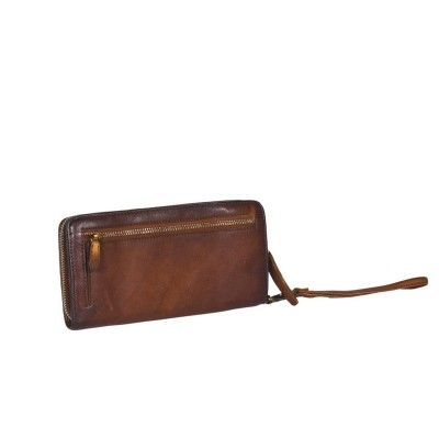 Photo of Leather Wallet Black Label Cognac Chloe