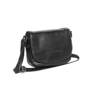Leather Shoulder Bag Black Ilse