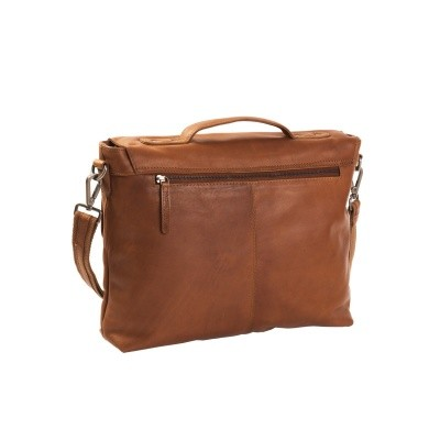 Photo of Leather Shoulder Bag Cognac Jules