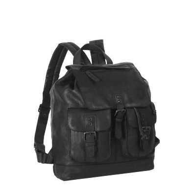 Photo of Leather Backpack Black Label Anthracite Laney
