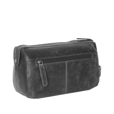 Photo of Leather Toiletry Black Verena