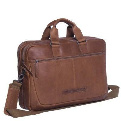 Photo of Leather Laptop Bag Cognac Seth