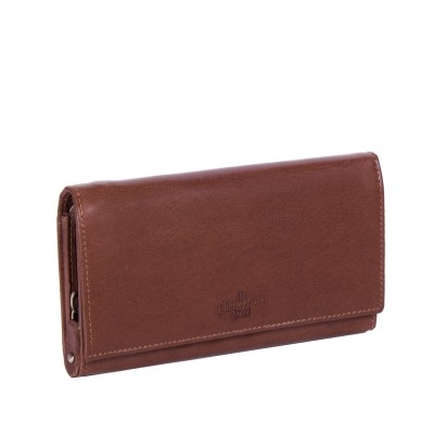 Leather Wallet Cognac Vilai