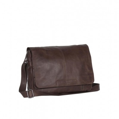 Leather Laptop Bag Brown Richard