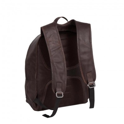 Photo of Leather Backpack Brown Medium Andrew