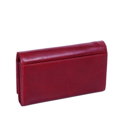Photo of Leather Wallet Red Vilai