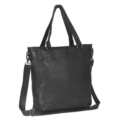 Photo of Leather Tote Bag Black Jade