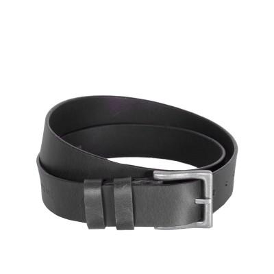 Leather Belt Justin Black