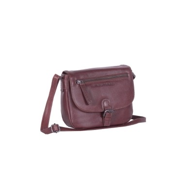 Leather Shoulder Bag Brown Fay