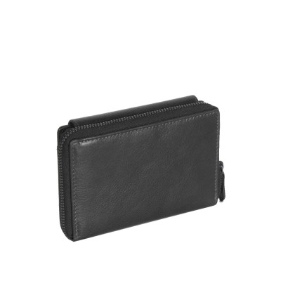 Photo of Leather Wallet Black Shannon