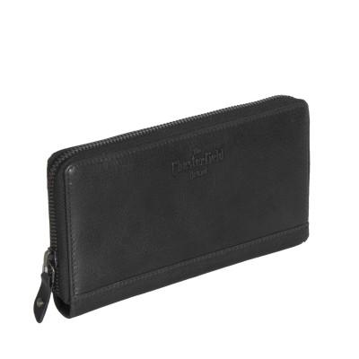 Photo of Leather Wallet Black Bridget