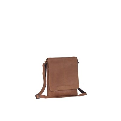 Leather Shoulder Bag Cognac Bodil