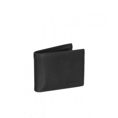 Leather Wallet Black Marvin
