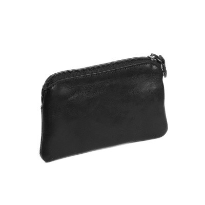 Photo of Leather Key Pouch Black Miles