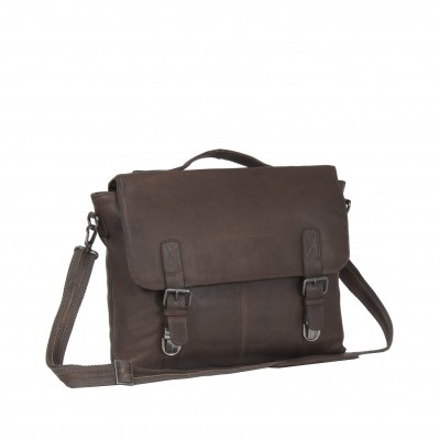 Leather Shoulderbag Brown Jules