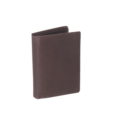 Leather Wallet Brown Hazel