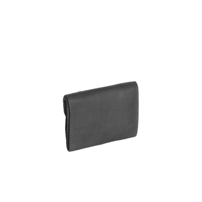 Photo of Leather Wallet Small Black Alma
