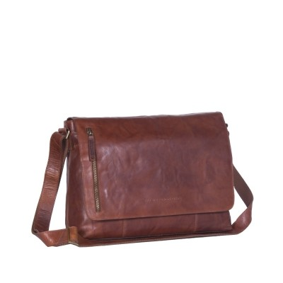 Photo of Leather Shoulder Bag Cognac Maha