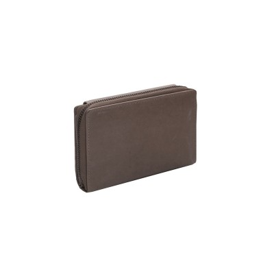 Photo of Leather Wallet Taupe Ascot