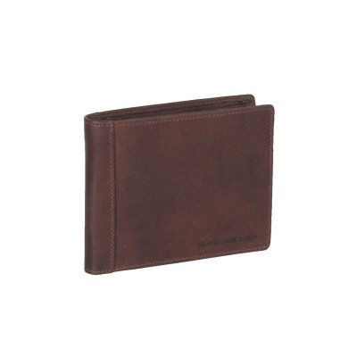 Leather Wallet Brown Alvina