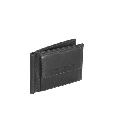 Leather Wallet Black Joshua