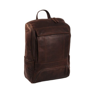 Leather Backpack Brown Rich