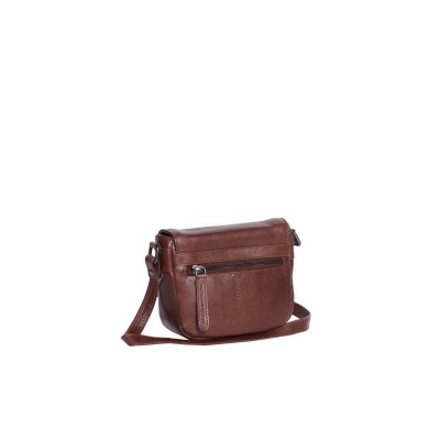 Photo of Leather Shoulder Bag Cognac June