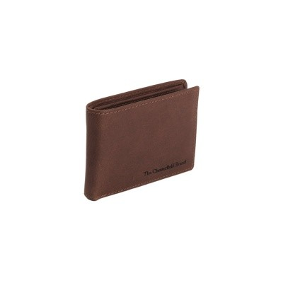 Leather Wallet Brown Enzo