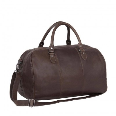 Photo of Leather Weekend Bag Brown Liam