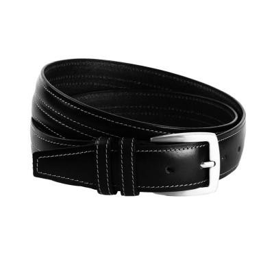 Leather Belt Black Lennon