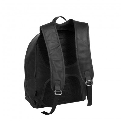 Photo of Leather Backpack Black Medium Andrew